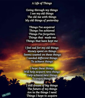 a life of things