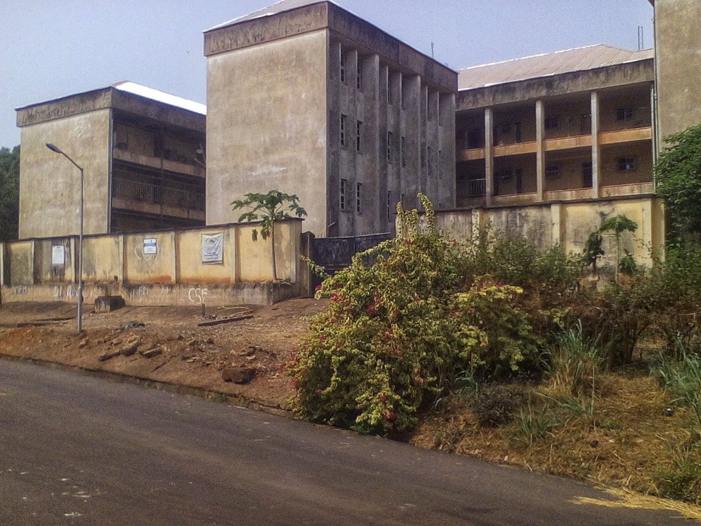 lady ibiam hostel in UNEC